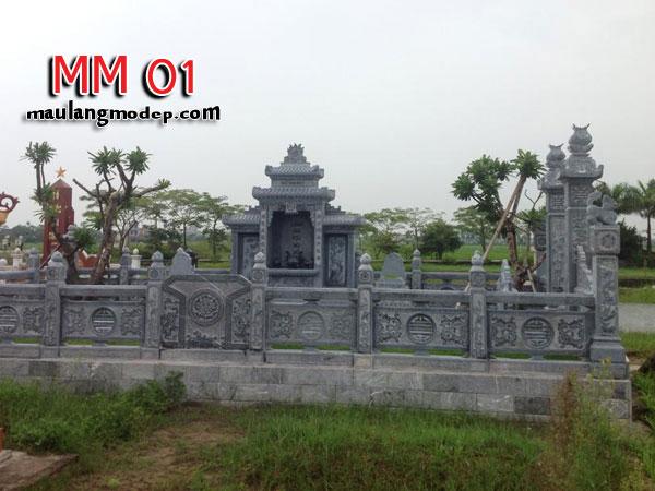 khu lăng mộ đá MM 01