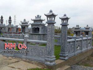 khu lăng mộ đá đẹp MM 04