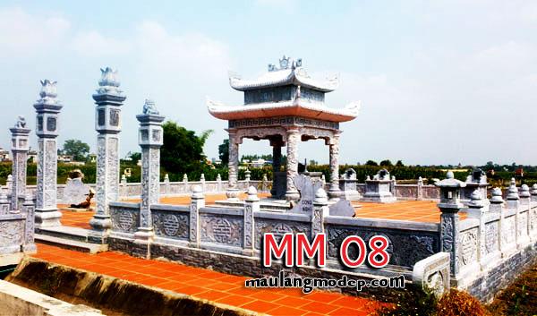 khu lăng mộ đá giá rẻ MM 08