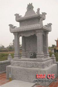 mẫu lăng thờ bằng đá