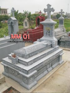 mộ công giáo bằng đá