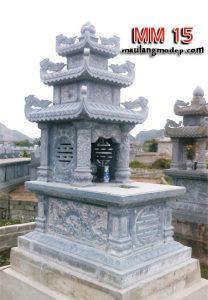 giá mộ đá ba mái