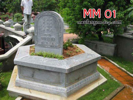 Mộ lục lăng đá MM 01