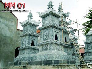 Mộ tháp đá MM 01
