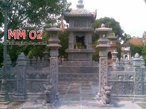 Mộ tháp đá MM 02