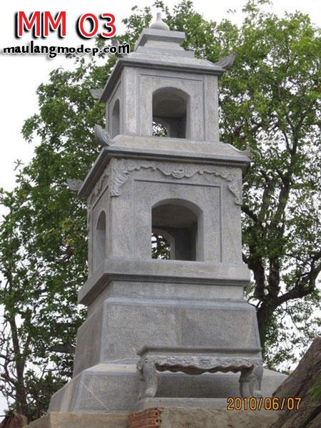 Mộ tháp đá MM 03