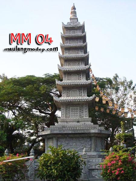 Mộ tháp đá MM 04