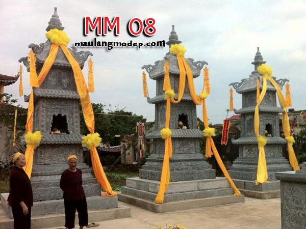Mộ tháp đá MM 08
