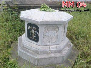 Mộ bát giác đá MM 04