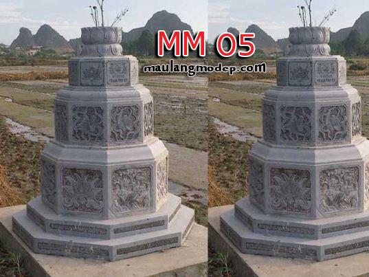 Mộ bát giác đá MM 05