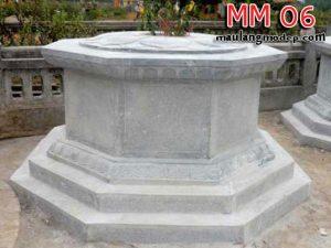 Mộ bát giác đá MM 06