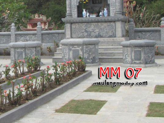 Mộ bát giác đá MM 07