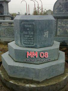 Mộ bát giác đá MM 08