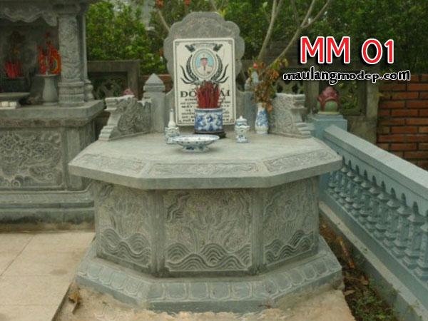 Mộ bát giác đá MM 01