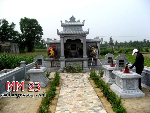 Khu lăng mộ đá đẹp MM 23
