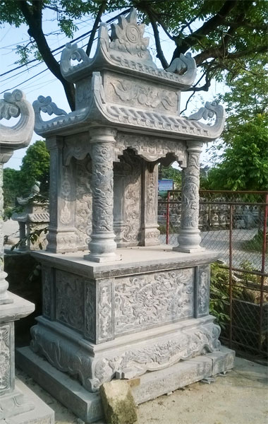 Lăng thờ bằng đá, lăng thờ đá, mẫu lăng thờ đá đẹp