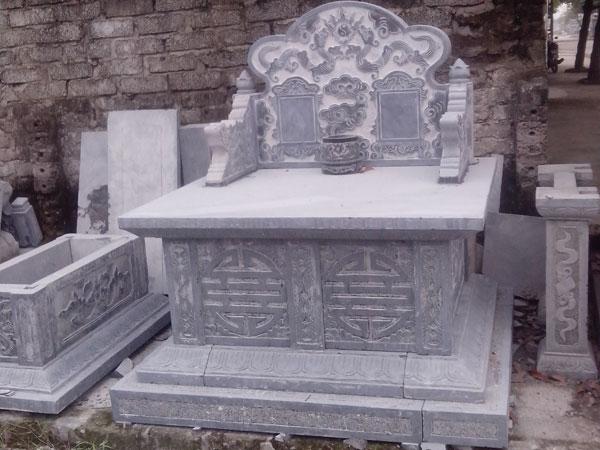 mộ đá đôi, mộ đôi bằng đá, mộ đá đôi đẹp