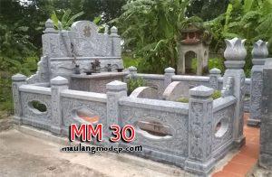 Khu lăng mộ đá MM 30