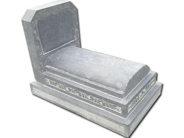 mộ đá tam sơn, mộ đá không mái,mộ đá đơn giản