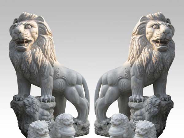 Sư tử bằng đá xanh, sư tử đá đẹp
