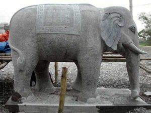 Mẫu voi bằng đá đẹp