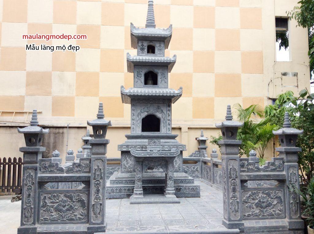 Khu lăng mộ tháp bằng đá