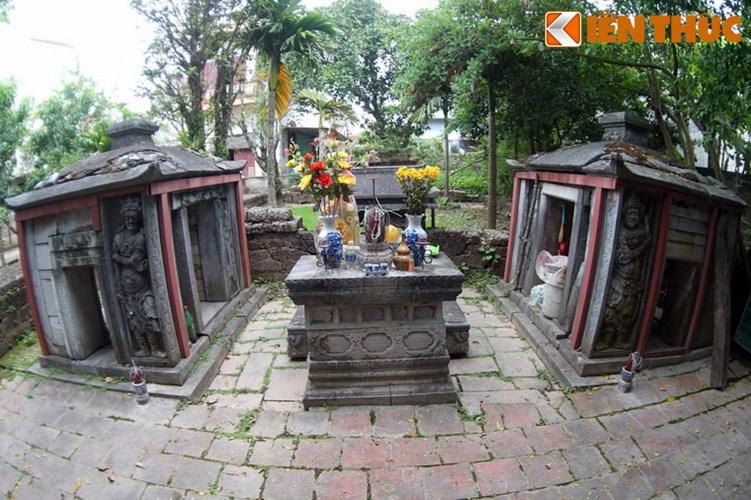 """Xot xa tuyet tac lang mo da co """"chong nang"""" o Ha Noi-Hinh-7 Thẳng hàng với cặp voi đá là hai nhà bia."""