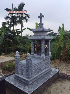 Mẫu mộ công giáo đá đẹp