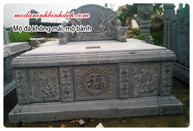 Mẫu mộ đôi đá đẹp