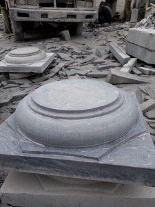 đế kê cột nhà bằng đá
