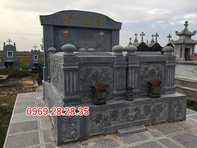 Mẫu mộ đôi công giáo