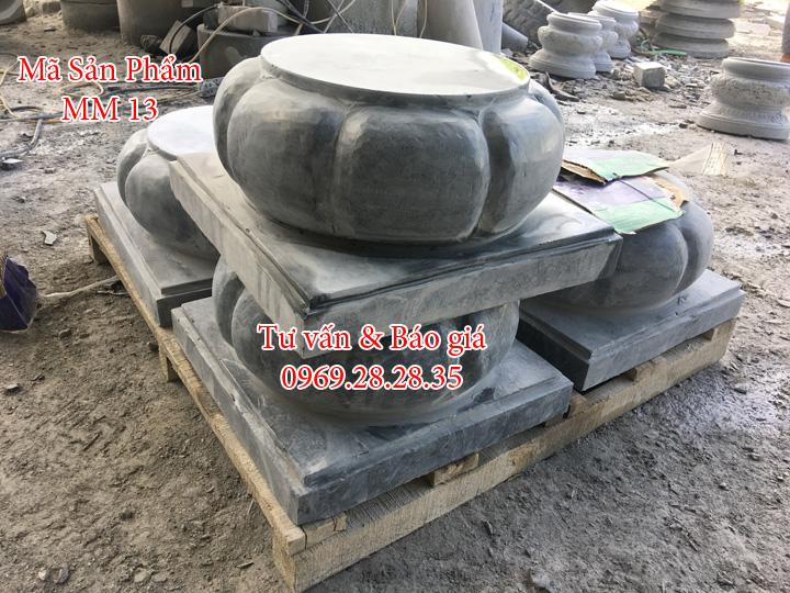 đá kê cột thiết kế theo yêu cầu