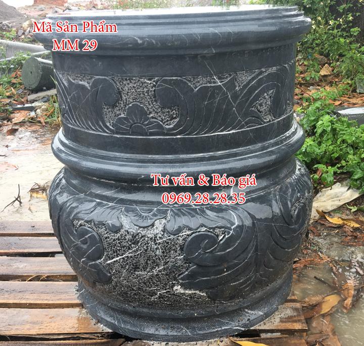 Chân tảng đá kê nhà thờ công giáo Thái Bình