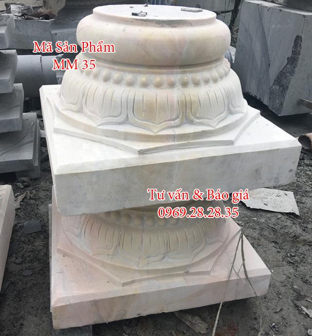Đá vàng nghệ an, kê cột gỗ, cột nhà