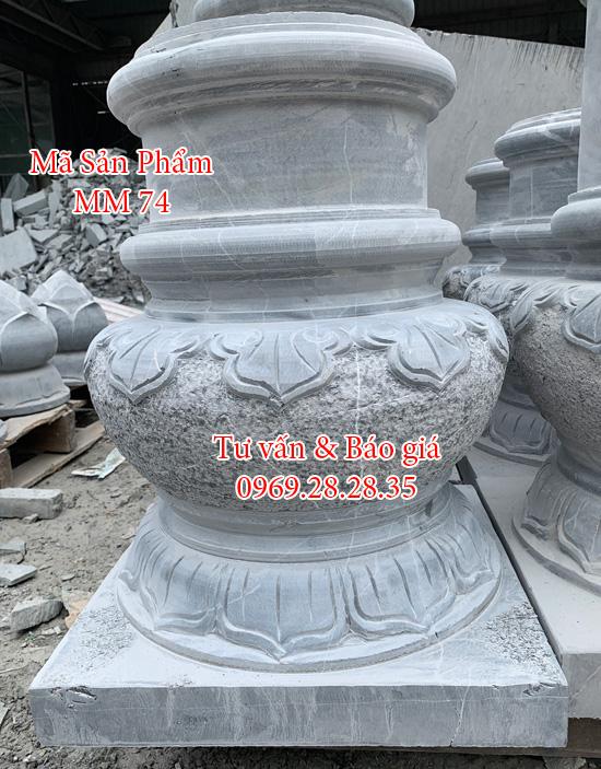 đá kê cột nhà sàn