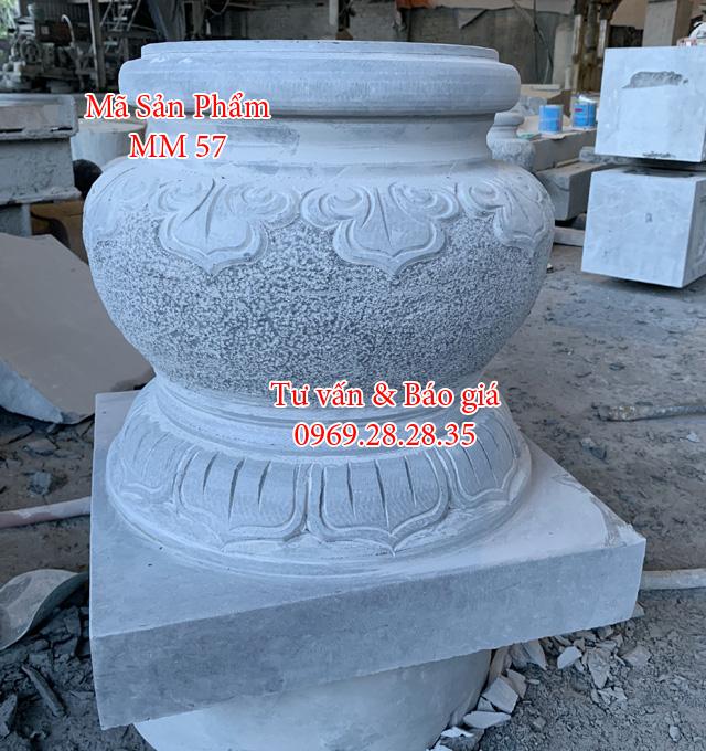 Chân tảng đá kê cột nhà